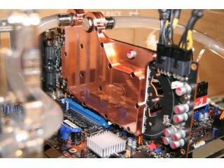 Водоблок для видеокарты DD GTX480 GPU 6900 CC для Nvidia GTX480 Copper