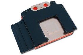 Ватерблок для видеокарты Radeon HD2900 XT  красная акриловая крышка