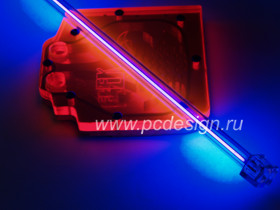 Светится в лучах ультрафиолетовой лампы