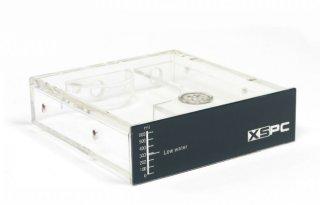 Резервуар XSPC   черная панель  для 5 25   отсека  с синей подсветкой