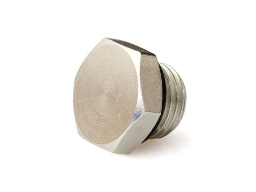 Фитинг заглушка шестигранная ProModz Cooled Silence G1 4 с резин  уплотнением
