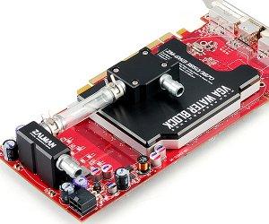 Водоблок ZM GWB3850 3870 для видеокарт ATI Radeon HD3850  3870 алюминиевый